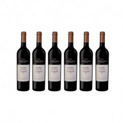 Set de 6 botellas de vino tinto Terrazas de los Andes Apelación Las Compuertas MB 2018 750ml (4025)