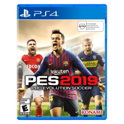 JUEGO PS4 BOX PES2019 PRO EVOLUTION SOCCER