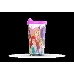 Vaso con Tapa Cafe Princesas de Disney Plastico