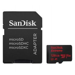 TARJETA DE MEMORIA MICROSD 128GB SANDISK EXTREME SDXC UHS-3 A1 4K 100MB/S