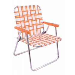 Reposera Descansar Sillon Plegable Aluminio 7/8 Art80003