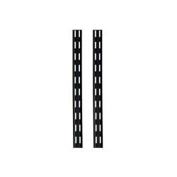 Riel largo negro de 1,00m x 2 unidades SC