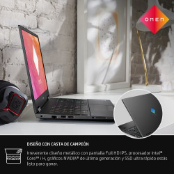Notebook Hp Gamer Omen 15-ek0062la i7 + Mouse HP Backlit Gamer de REGALO!