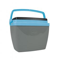 Heladera Conservadora Mor 6Lts Color Gris + Azul
