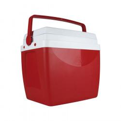 Heladera Conservadora Mor 26Lts Color Rojo