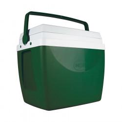 Heladera Conservadora Mor 34Lts Color Verde Oscuro