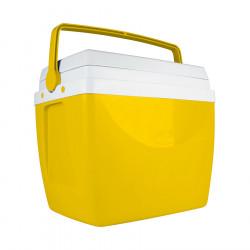 Heladera Conservadora Mor 34Lts Color Amarillo