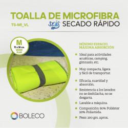 JUEGO 2 Toallas Tamaño XL (150 x 75 cm) y 2 Toallas M (50 x 75 cm). Microfibra. Siete Colores a seleccionar