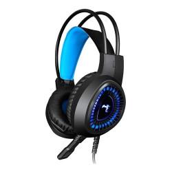 Auriculares Gamer Kolke Dark Jack Usb Micrófono Azul
