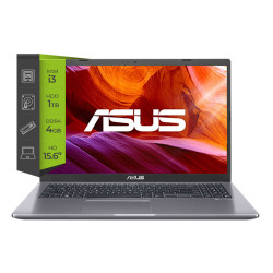Notebook Asus 15 Core i3 1005G1 4GB 1TB Sin Sistema Operativo