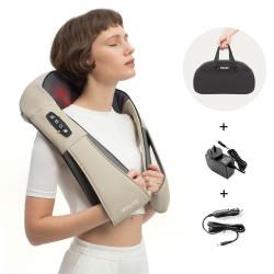 Masajeador Multicorporal con Calor Beige Wolke Luxury Bolt Pearl