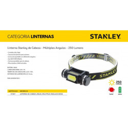 "LINTERNA FRONTAL""STANLEY""ANGULAR 250L"