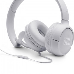 Auriculares JBL On-ear T500 Blanco
