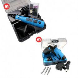 Minitorno Mini Grinder Power 8 + Mini Atornillador Driver Power 8