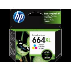 Cartucho de Tinta HP 664XL Tricolor