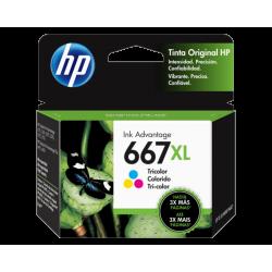 Cartucho de Tinta HP 667XL Tricolor