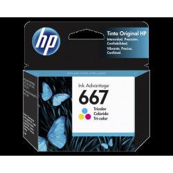 Cartucho de Tinta HP 667 Tricolor