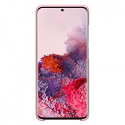 Funda Samsung Silicone Cover Para Galaxy S20 Ultra Rosa