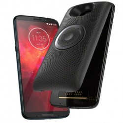 Moto Z3 Play + Moto Mod Stereo Speaker Black