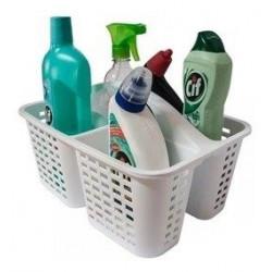Canasto Organizado Cesto Contenedor De Productos De Limpieza