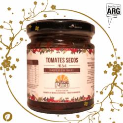 Tomates Secos en Aceite de Olivas al Malbec (agroecológico) - Finca Paru