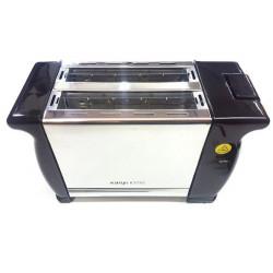 Tostadora Electrica Kanji Home 900w 2 Panes 6 Niveles