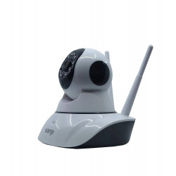 CAMARA IP WIRELESS KANJI KJ-CAMIP1MX2 GRABACION HD MICROSD HD IDS Y ANDROID