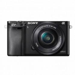 Sony Cámara a6000 con montura E y sensor APS-C Sony ILCE-6000L/BE38