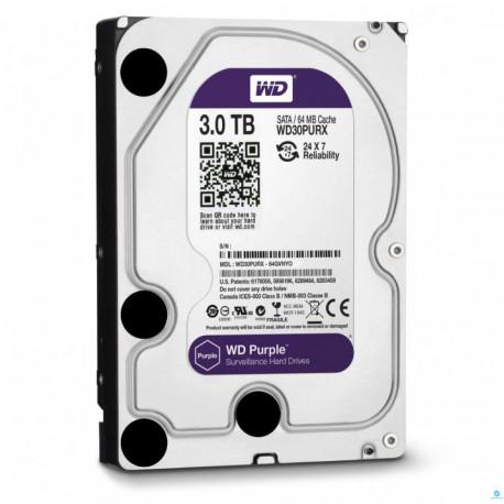 Disco Rigido WD 3TB Intellipower Purple