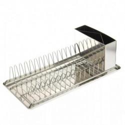 Secaplatos Acero +escurridor + Bandeja Kitchen Company 25301