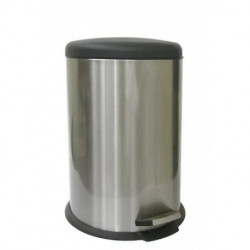 Cesto De Basura Acero Inox 12 Litros Kitchen Company B11712l