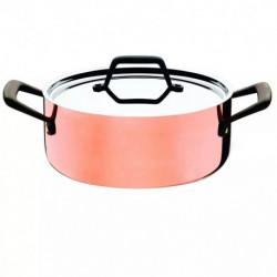 Trix Cobre Cacerola Con Asas Tramontina 62943243 Kitchen Co
