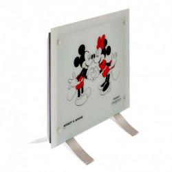 Vitroconvector Disney PE-VC10D1 Minnie y Mickey Blanco