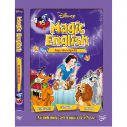 Dvd/Blu-Ray/Cd Disney Magic English Lugares y Espacios