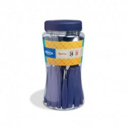 Juego de Cubiertos de Acero Inoxidable Itaparica 24 Pzs Azul