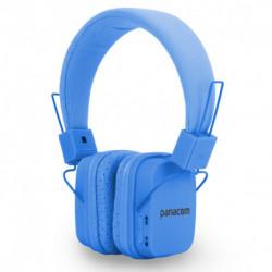 Auriculares Panacom Bl-1353hs Azul