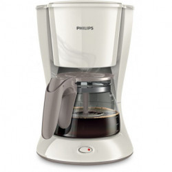 Cafetera Electrica Philips Hd7447/00 1,2l Anti-goteo Blanca