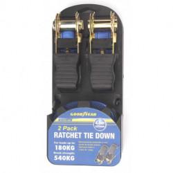 Kit de cintas de amarre con criquet y gancho Good Year GY-RTD-207