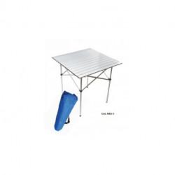 Mesa plegable de aluminio c/ tapa de Aluminio MES-3