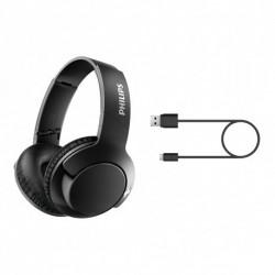 Auriculares Over Ear Bluetooth línea BASS + SHB3175BK/00
