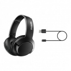 Auriculares Over Ear Bluetooth Philips línea BASS + SHB3175BK/00