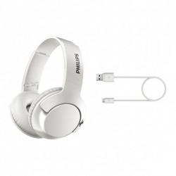 Auriculares Over Ear Bluetooth Philips línea BASS + SHB3175WT/00