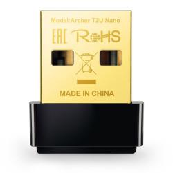 PLACA DE RED USB WIRELESS TP-LINK ARCHER T2U NANO AC600 DUAL BAND