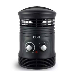CALOVENTOR BGH FAN HEATER 360 BHF20B18 C/TERMOSTATO 1800W
