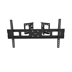 SOPORTE TV DOBLE BRAZO, MOVIBLE, INCLINABLE 60KG 32 a 63 ONEBOX OB-M36E