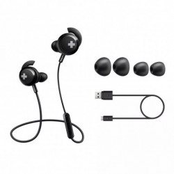 Auriculares In Ear Bluetooth línea BASS+ Philips(SHB4305BK/00)