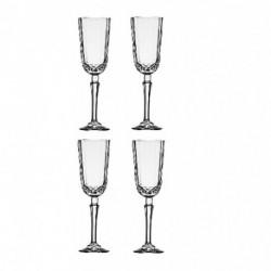 Set de 4 copas de champgne