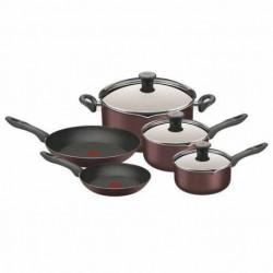 Batería de cocina 8 Piezas Cook & Strain T-Fal (T861H4L2)