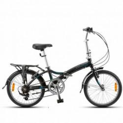 Bicicleta Plegable Aurora Full City F20 Alumin Shimano Folding