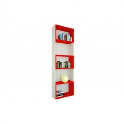 Biblioteca oficina venezia cubos rojos (80984)